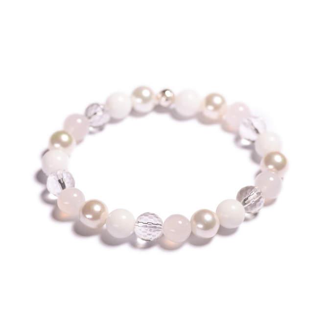 Damsky-koralkovy-naramek-bily-porcelan-shell-perly-fasetovany-kristal-mlecny-achat-bile-zlato-a.JPG