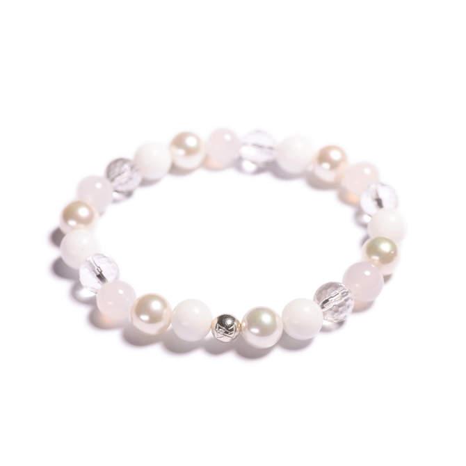 Damsky-koralkovy-naramek-bily-porcelan-shell-perly-fasetovany-kristal-mlecny-achat-bile-zlato-b.JPG
