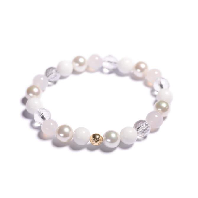 Damsky-koralkovy-naramek-bily-porcelan-shell-perly-fasetovany-kristal-mlecny-achat-zlato-b.jpg