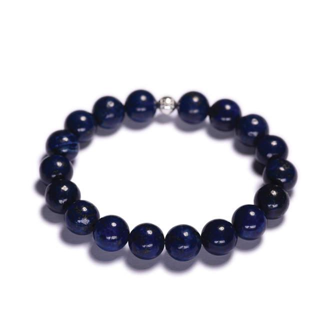 Pansky-koralkovy-naramek-10mm-modry-lapis-lazuli-bile-zlato-a.JPG