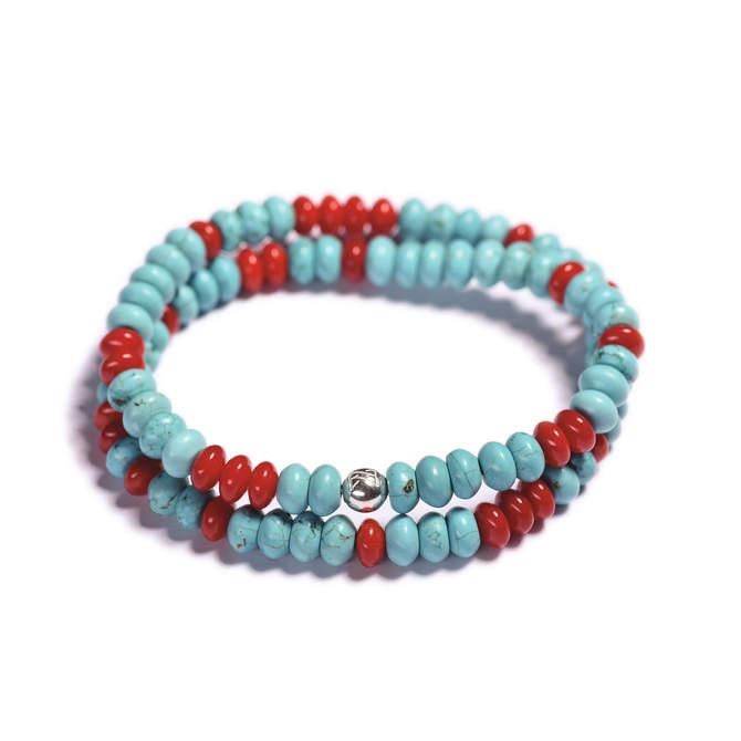 Pansky-koralkovy-wrap-naramek-modry-tyrkys-cerveny-koral-bile-zlato-b.JPG
